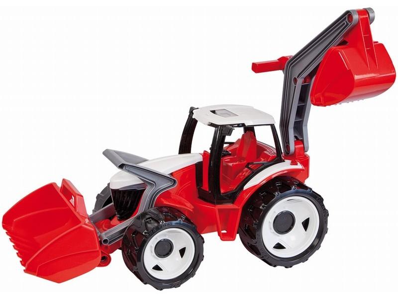 LENA - Traktor s lyžicou a bagrom m/s 02081