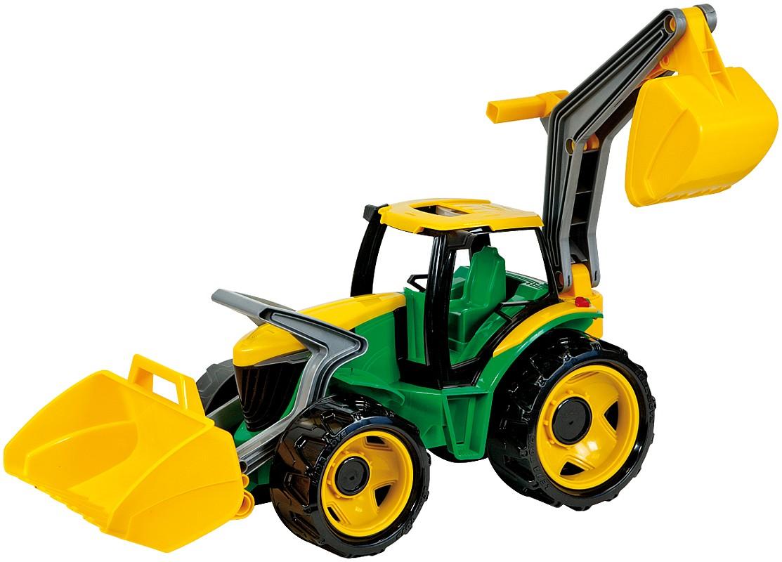 LENA - Traktor S Lyžicou A Bagrom, Zeleno-Žltý