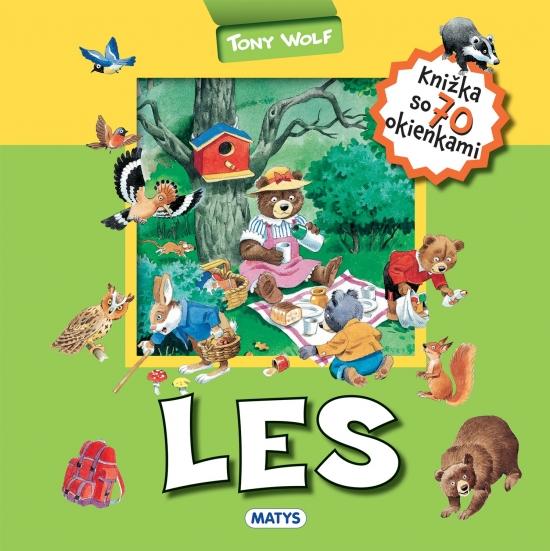 Les – knižka so 70 okienkami - Tony Wolf