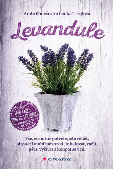 Levandule - Vše, co nutně potřebujete vědět... - Anita Ponešová, Lenka Tréglová