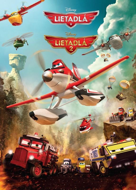 Lietadlá 1 a 2 - Walt Disney