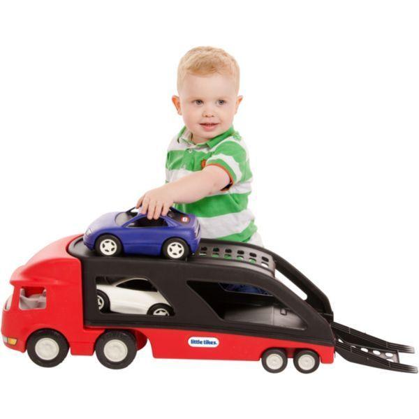 LITTLE TIKES - 484964 Ťahač s návesom na prepravu áut