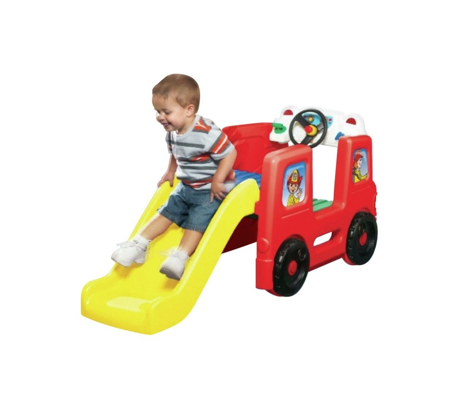 LITTLE TIKES - Hracie centrum Activity Gym Požiarne auto 173776