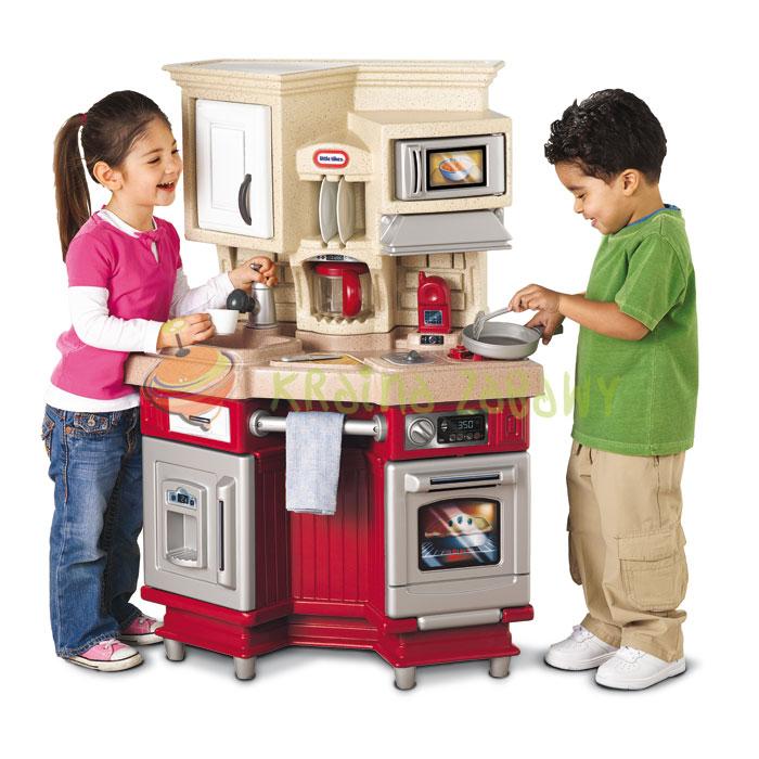 LITTLE TIKES - Little Tikes Retro kuchynka so zvukom červená 484377