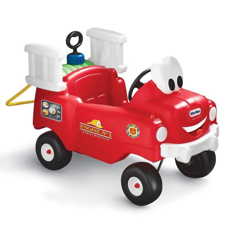 LITTLE TIKES - Požiarnické vozidlo s funkčnou striekačkou 616129