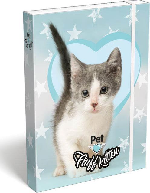 LIZZY CARD - Box na zošity A5 Mačiatko