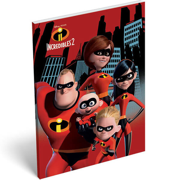 LIZZY CARD - Notes A5 THE INCREDIBLES