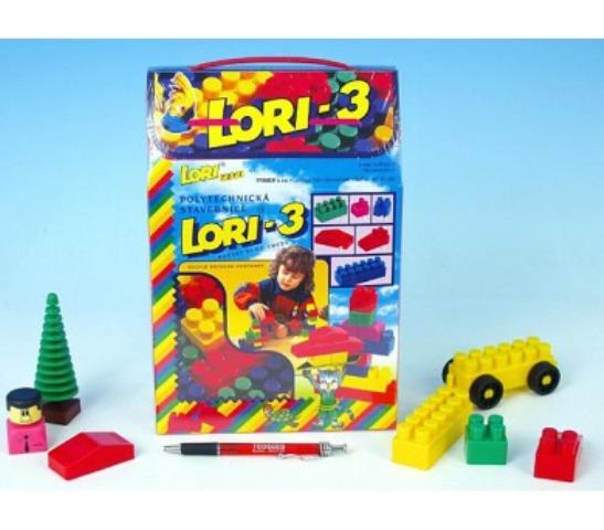 LORI TOYS - Stavebnica Lori 3