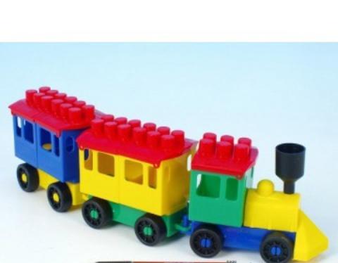 LORI TOYS - Stavebnica Lori 7 - malý vlak