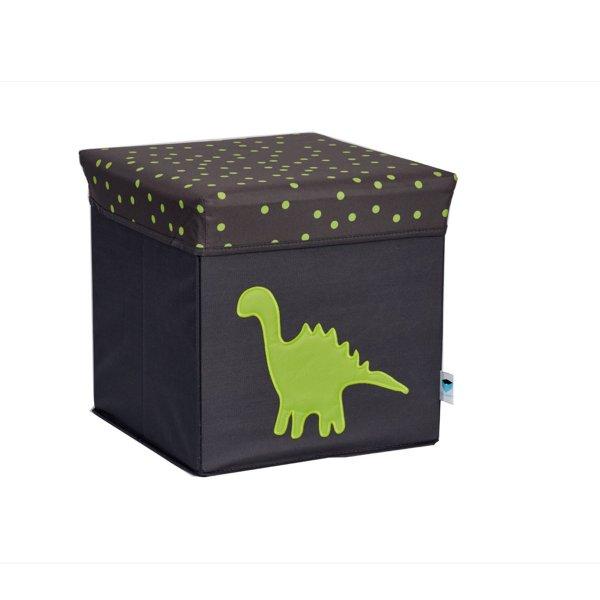 LOVE IT STORE IT - 2 v 1 stolička na sedenie a úložný box - dinosaurus