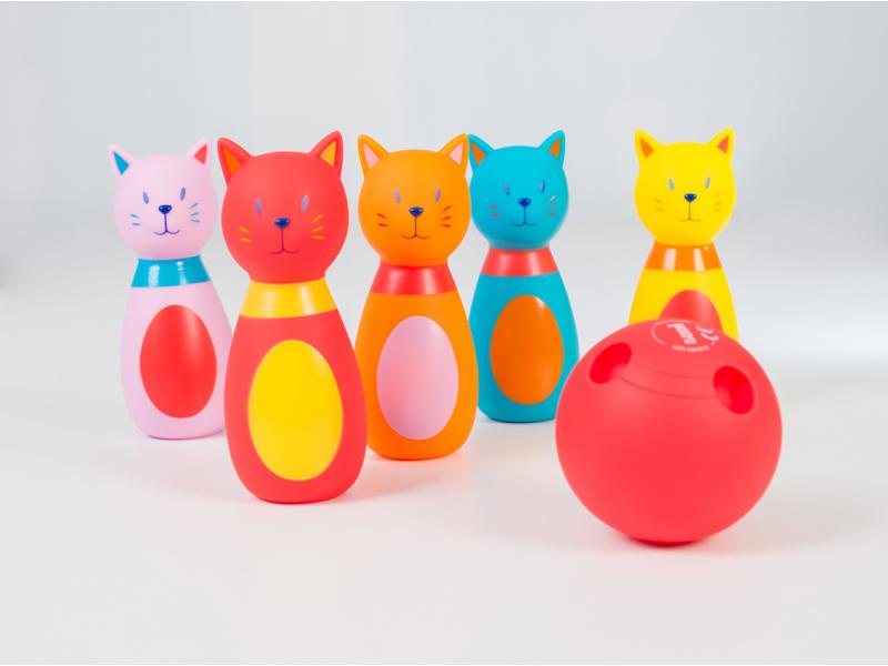 LUDI - Bowling pre najmenších Mačka