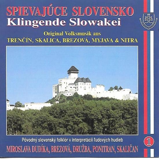 Ľudové piesne Západné Slovensko – Spievajúce Slovensko 1 - Kolektív autorov