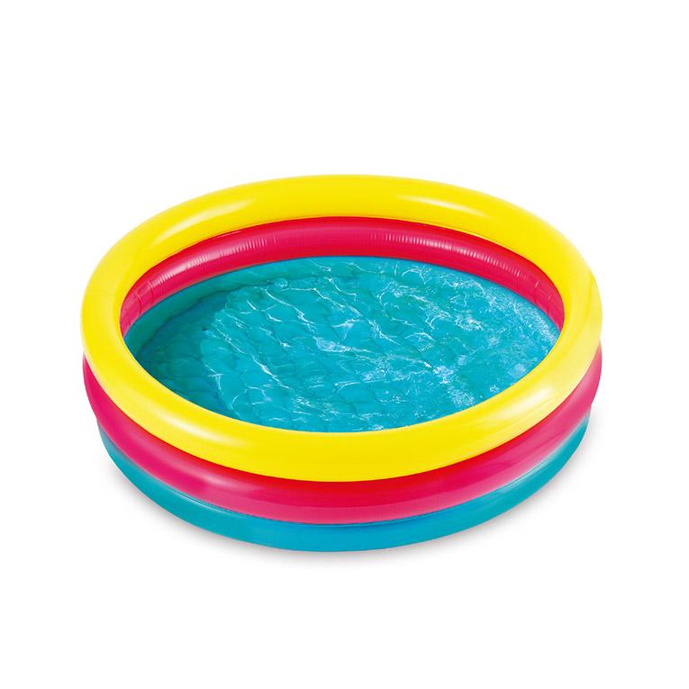 MAC TOYS - Detský bazénik, farebný