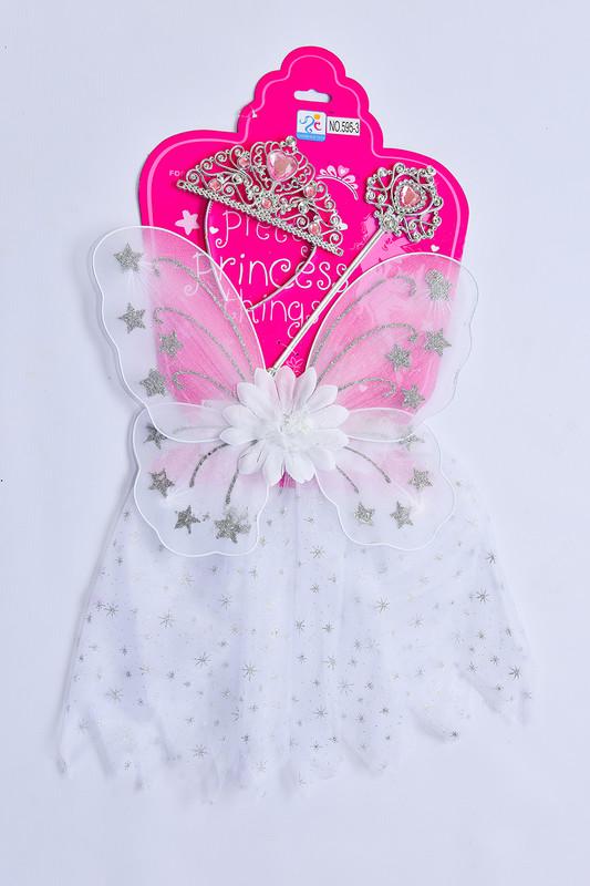 MAC TOYS - Šaty pre princeznú - biele