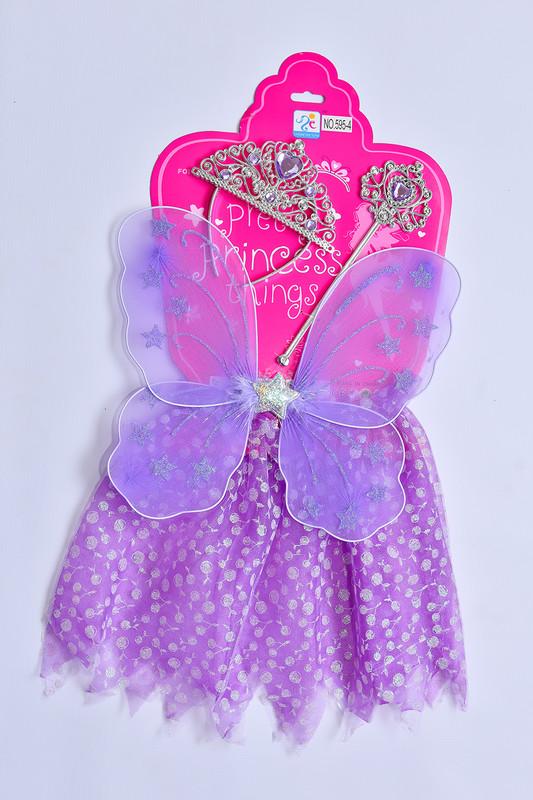 MAC TOYS - Šaty pre princeznú - fialové
