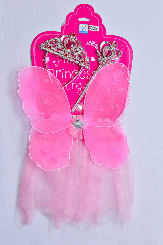 MAC TOYS - Šaty pre princeznú - ružové