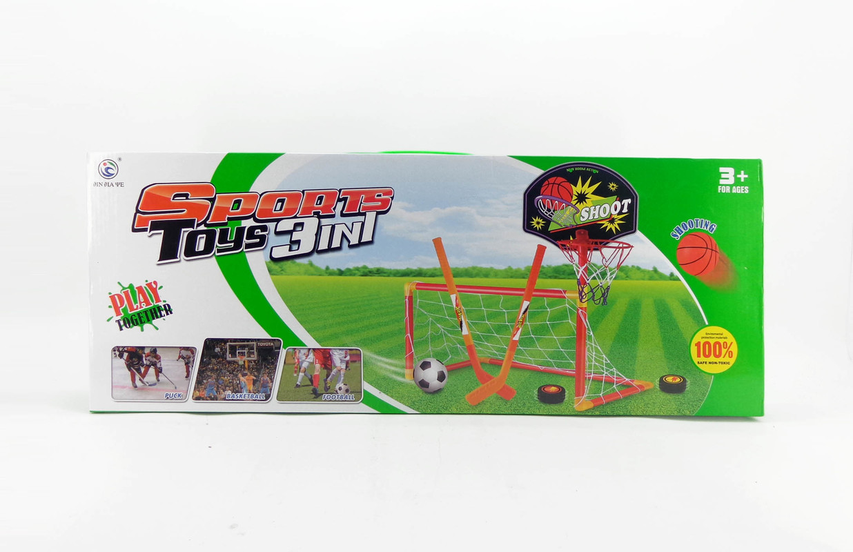 MAC TOYS - Športová Sada 3V1