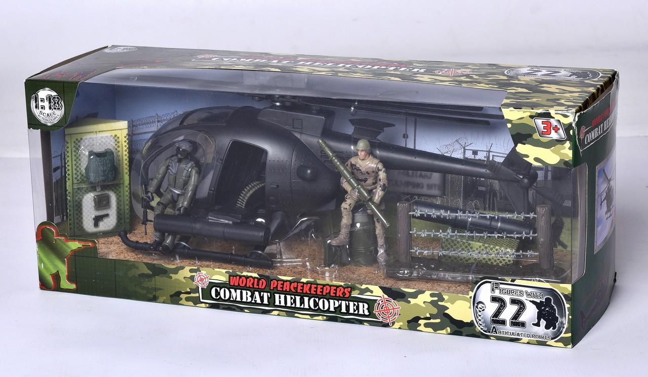 MAC TOYS - Vojenská helikoptéra