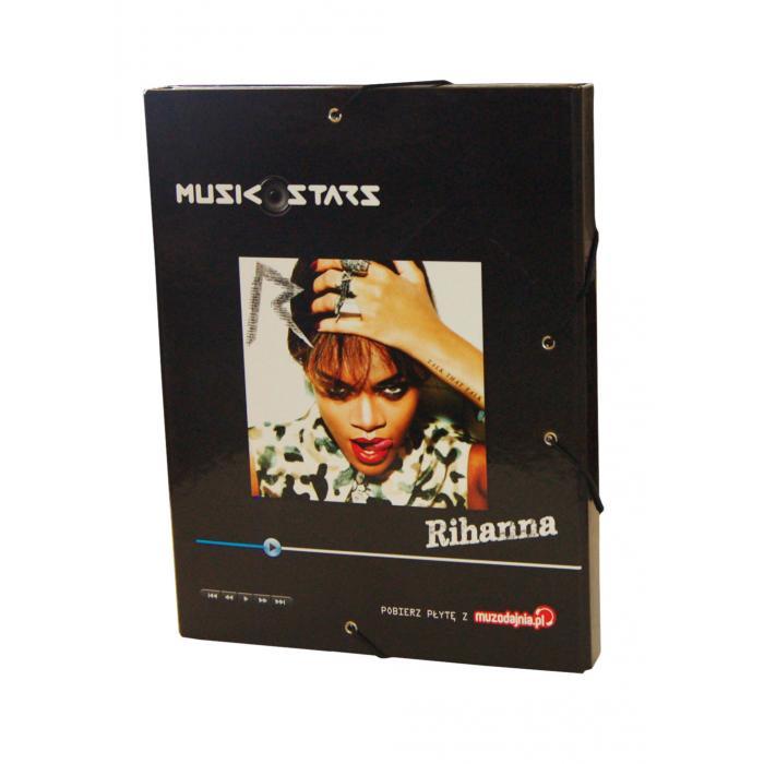 MAJEWSKI - Box na zošity A4 Music Star - Rhianna