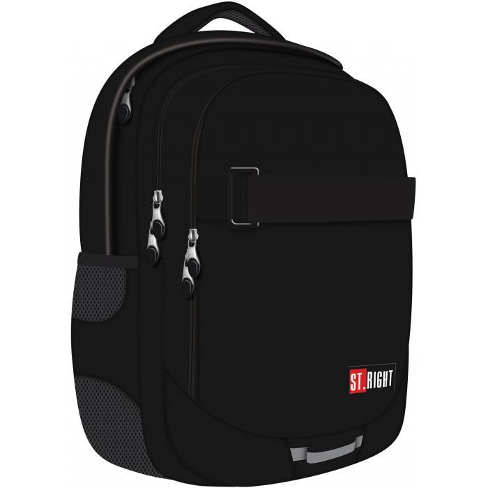 MAJEWSKI - Študentský batoh St.Right Black BP34