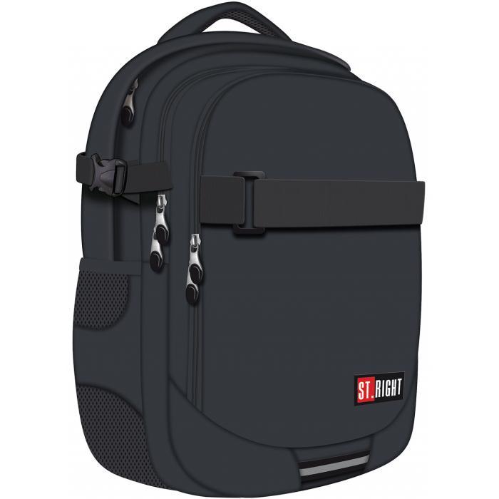 MAJEWSKI - Študentský batoh St.Right Gray BP34