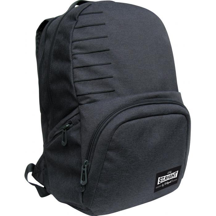 MAJEWSKI - Študentský batoh St.Right Melange dim gray BP35