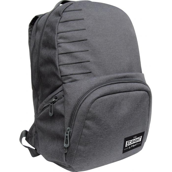 MAJEWSKI - Študentský batoh St.Right Melange light gray BP35