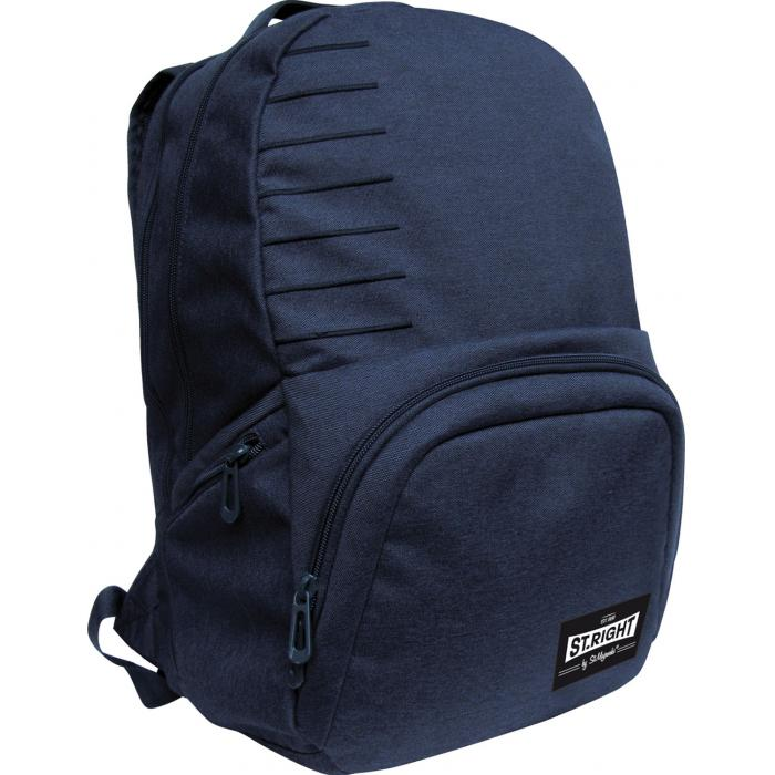 MAJEWSKI - Študentský batoh St.Right Melange navy blue BP35