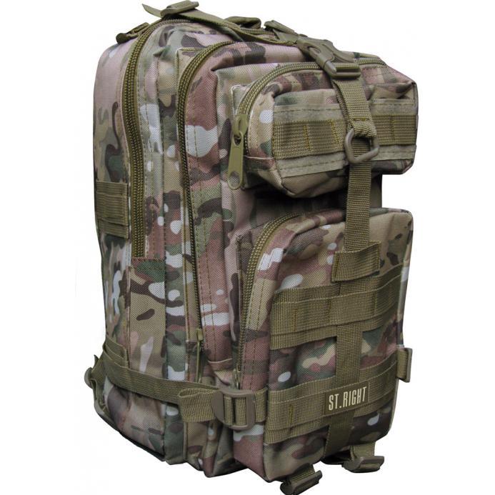 MAJEWSKI - Študentský batoh St.Right Military Multi BP43