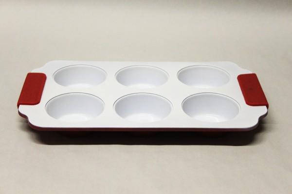 MAKRO - Forma keramická na 6ks muffin