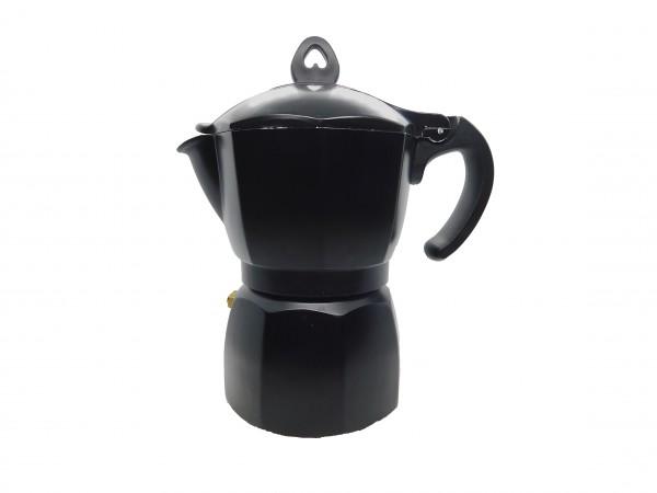 MAKRO - Kávovar pre 3 osoby čierny