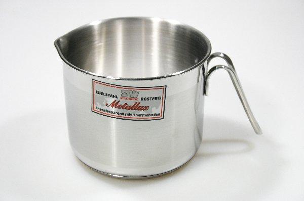 MAKRO - Nerezový hrnček na mlieko, 1,6 l