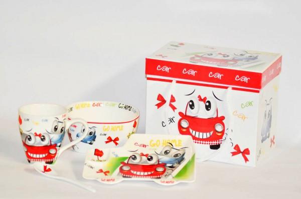 MAKRO - Sada detská porcelán 3-dielna