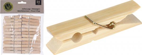 MAKRO - Štipce na prádlo drevo 24 ks