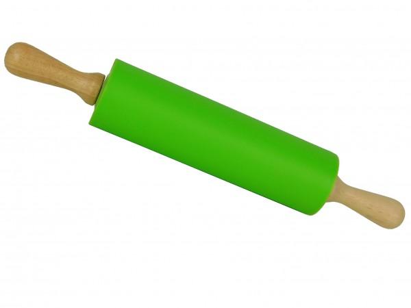 MAKRO - Valček na cesto-drevo, silikon, Mix farieb