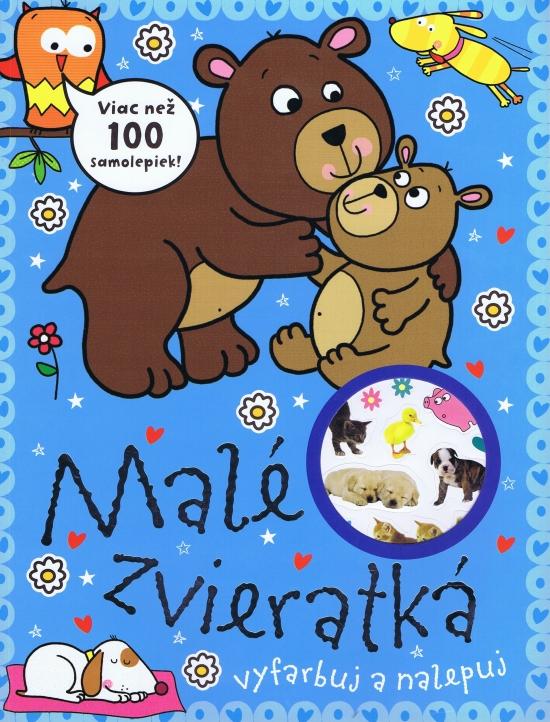 Malé zvieratká - viac než 100 nálepiek - autor neuvedený