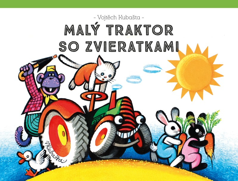 Malý traktor so zvieratkami - Vojtěch Kubašta