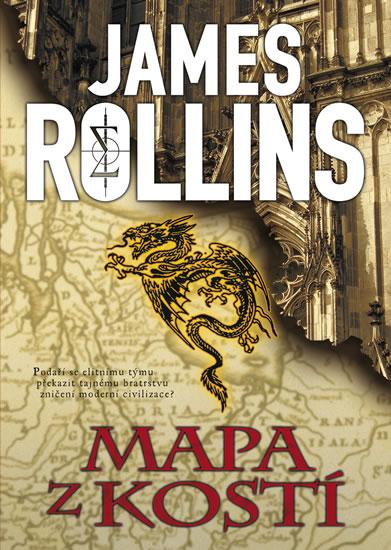 Mapa z kostí - 3. vydání - James Rollins