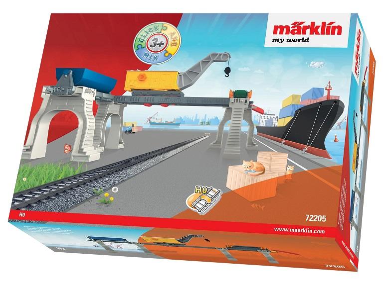 MÄRKLIN - MW Prekladisko so žeriavom 72205