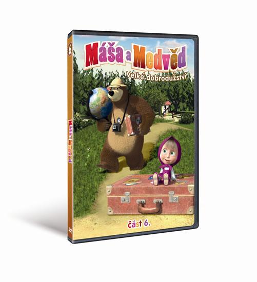 Máša a medvěd - Velké dobrodružství - DVD (část šestá)