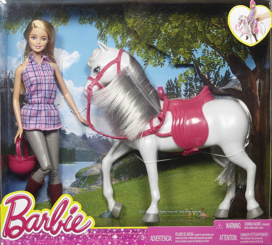 MATTEL - Barbie Bábika S Koňom