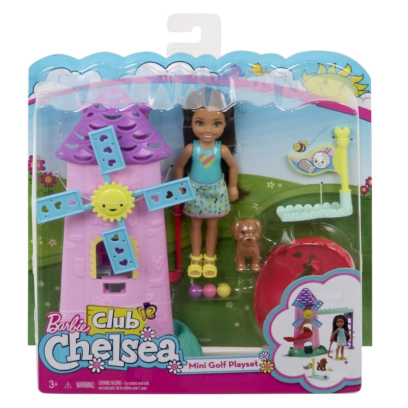 MATTEL - Barbie Chelsea Minigolf Herný Set