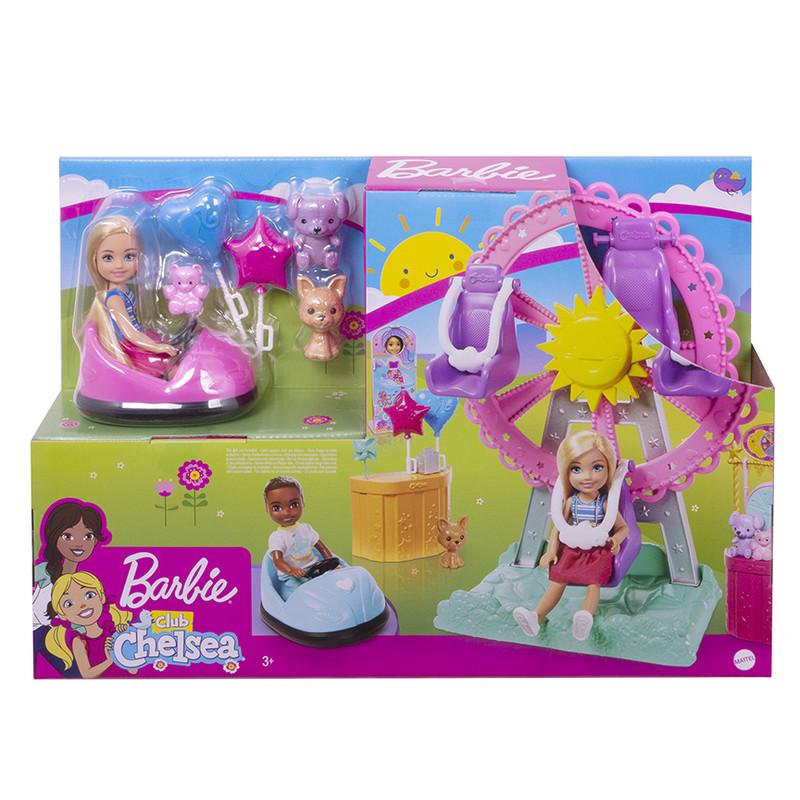 MATTEL - Barbie Chelsea Na Púti Herný Set