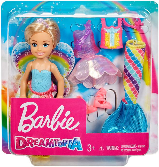 MATTEL - Barbie Chelsea oblečenie a bábika
