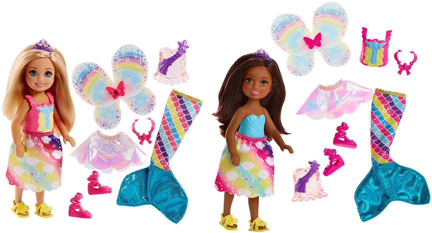 MATTEL - Barbie Chelsea Rozprávkové Oblečenie Asst