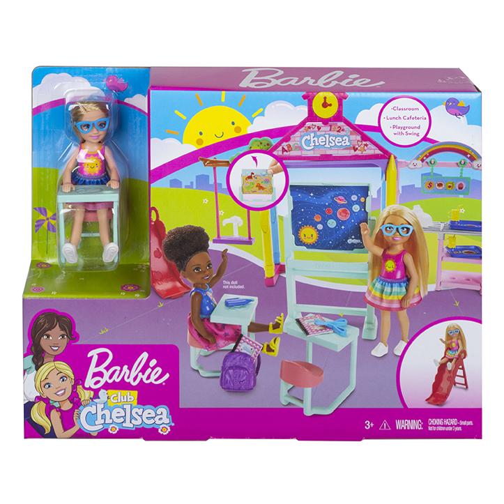 MATTEL - Barbie Chelsea Školička Herný Set