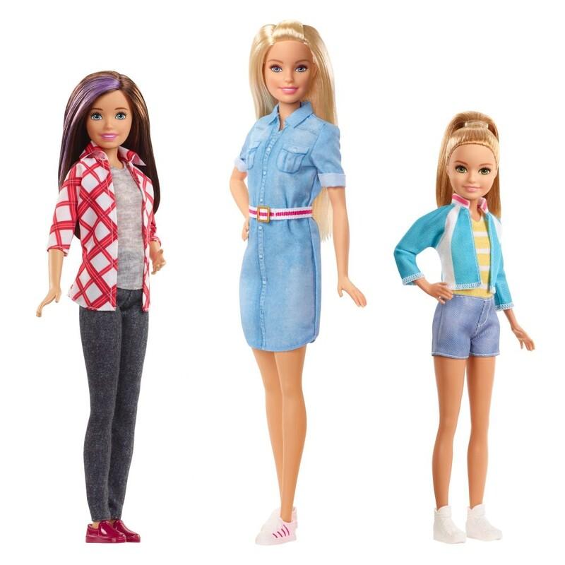 MATTEL - Barbie Dreamhouse Adventures Sestra, Mix Produktov