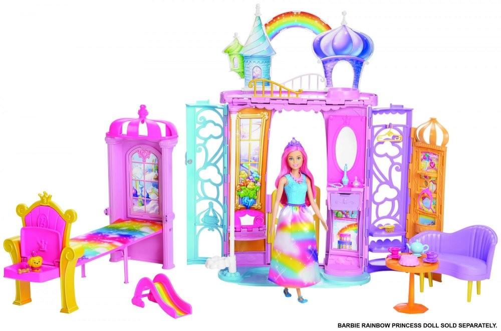 MATTEL - Barbie Dúhový zámok FTV98