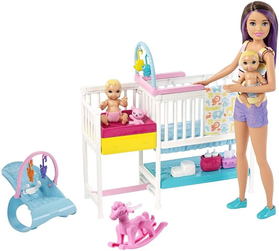 MATTEL - Barbie Herný set detská izbička GFL38