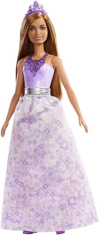 MATTEL - Barbie Čarovná princezná fialová FXT15